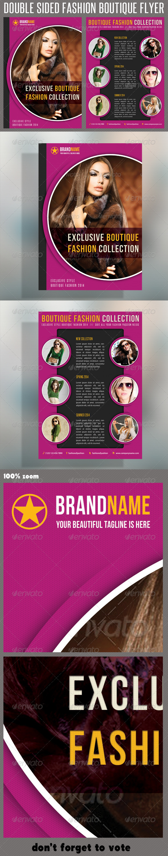 GraphicRiver Fashion Product Flyer 21 6323172
