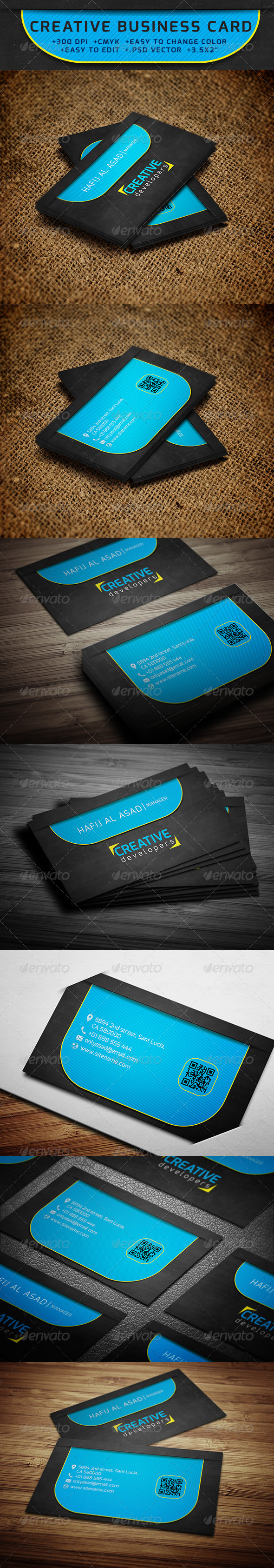 GraphicRiver Creative Business Card 6323367