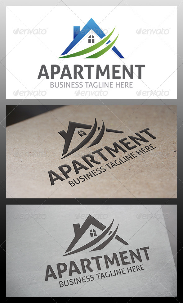 GraphicRiver Apartments Logo 6323399