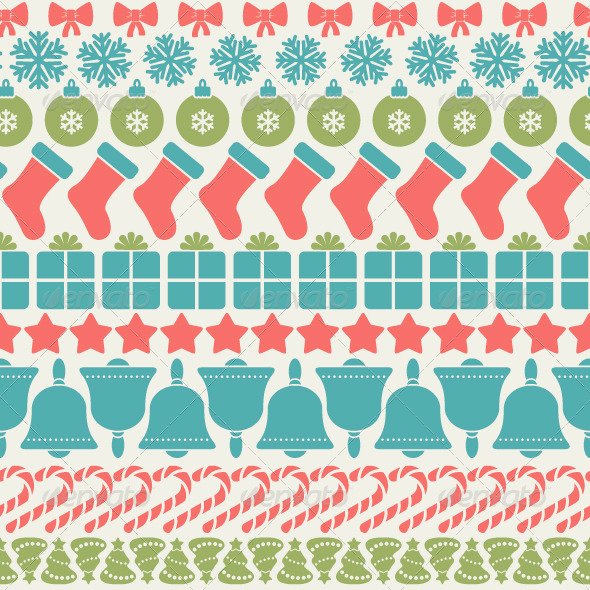 GraphicRiver Christmas Pattern 6323692
