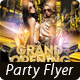 Grand Opening - Luxury Night Party Flyer/Poster - GraphicRiver Item for Sale
