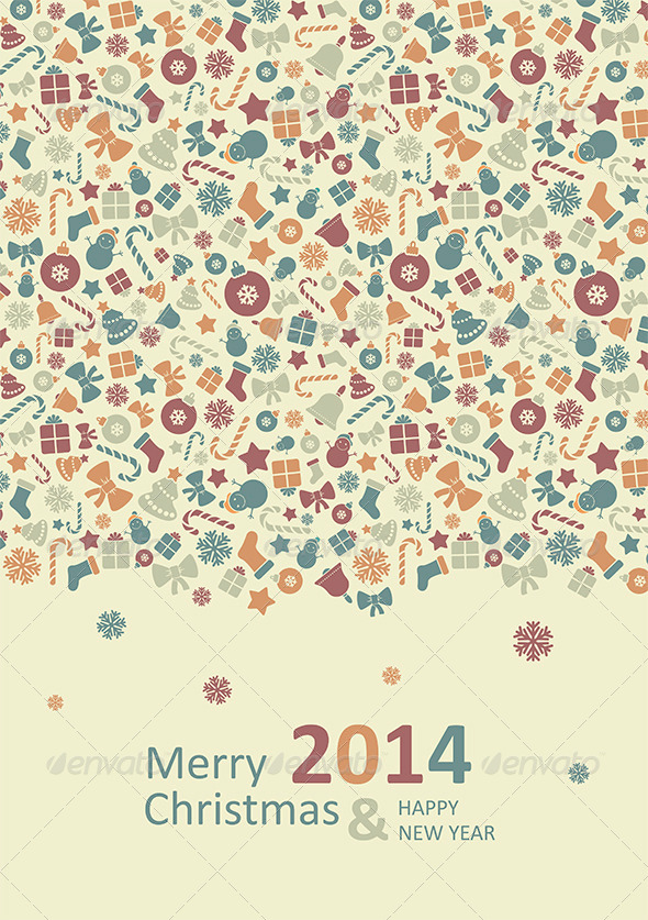 GraphicRiver Merry Christmas Card 6324412