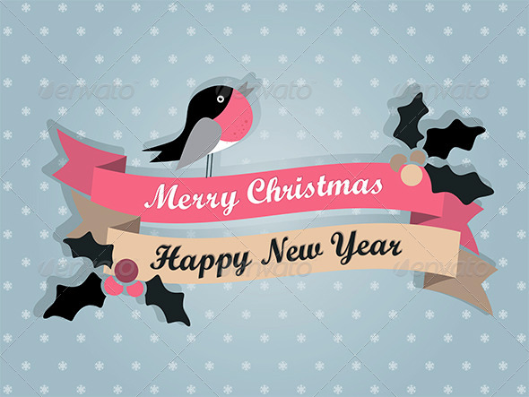 GraphicRiver Merry Christmas Card 6324483