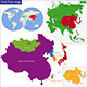 East Asia Map - GraphicRiver Item for Sale