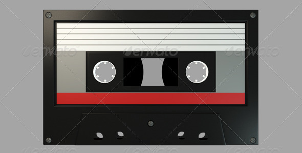 GraphicRiver Cassette Tape 6326401