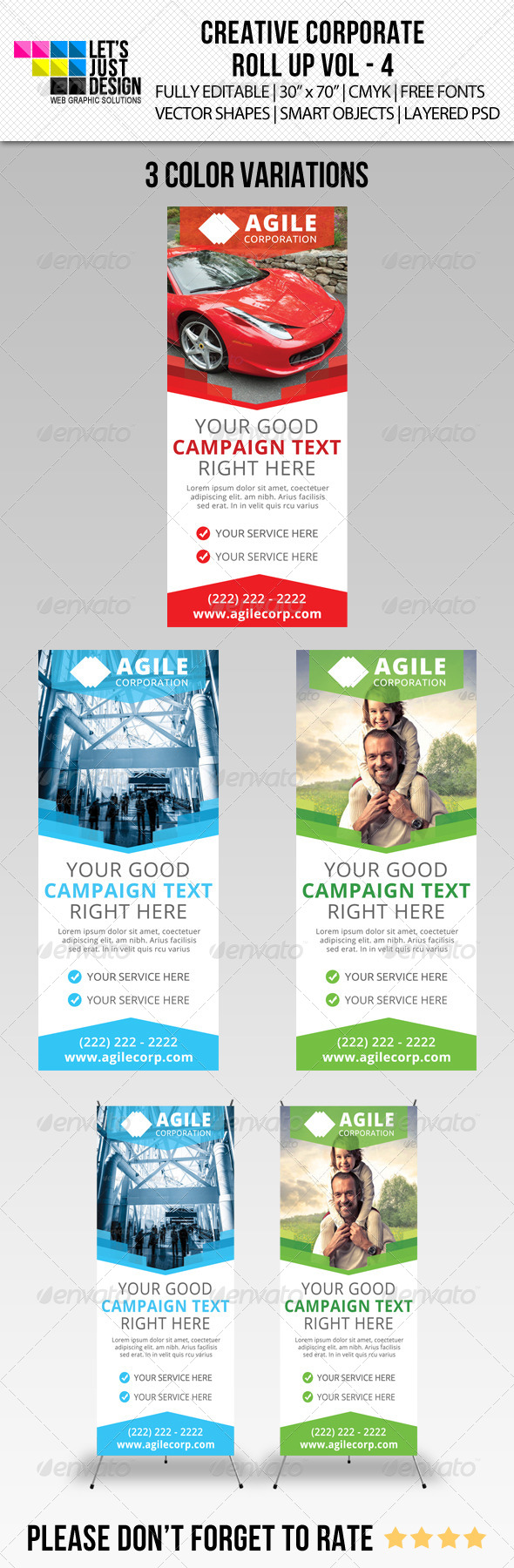 GraphicRiver Corporate Roll-Up Banner Vol 4 6326413