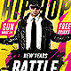 Hip Hop New Year Battle - Psd Flyer - GraphicRiver Item for Sale