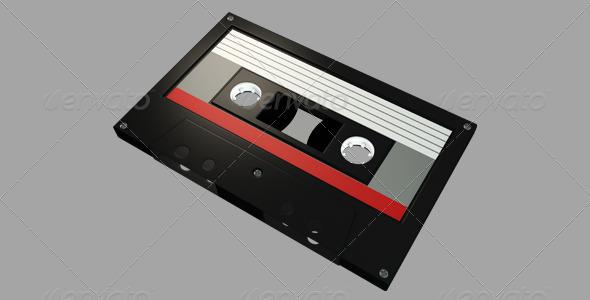 GraphicRiver Cassette Tape 6326487