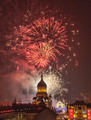Fireworks in Cluj Napoca, Romania - PhotoDune Item for Sale