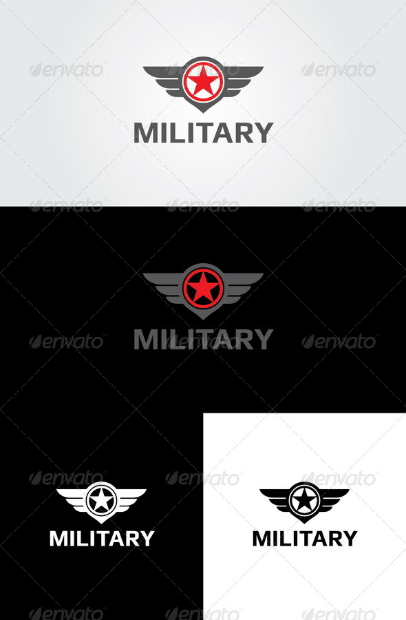 GraphicRiver Military 2 Logo 6326915