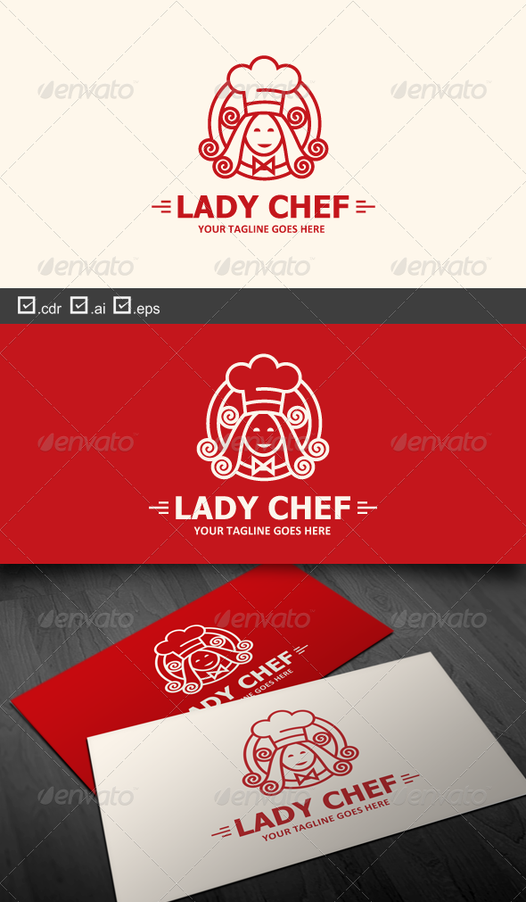 GraphicRiver Lady Chef 6327669