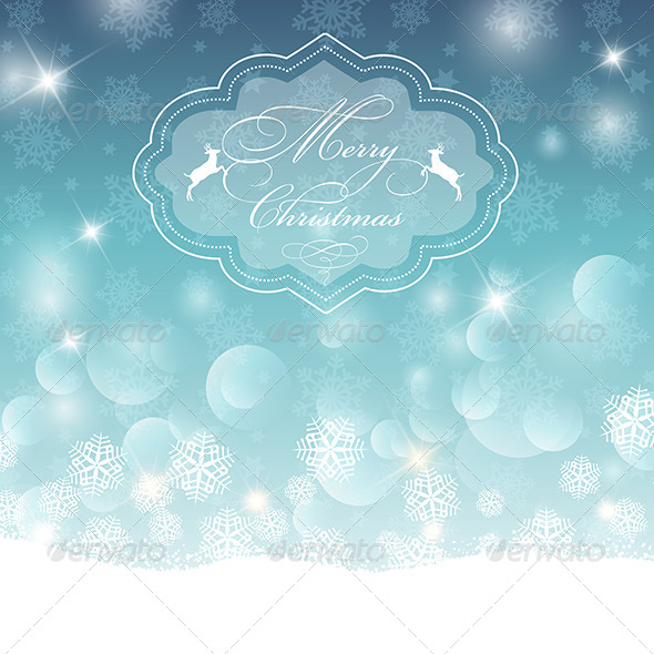 GraphicRiver Christmas Background 6329846