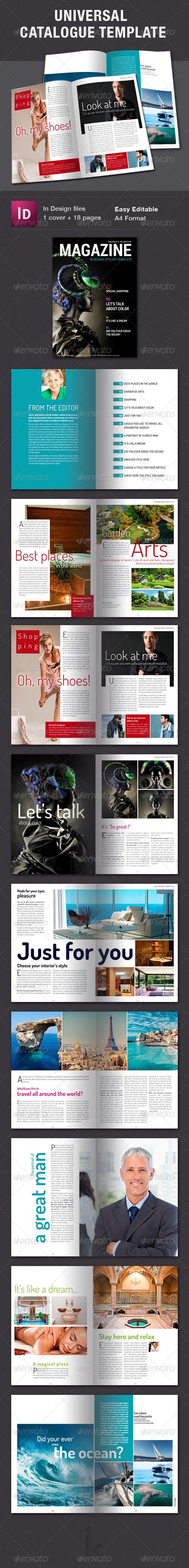 GraphicRiver Universal Magazine Template 6329881
