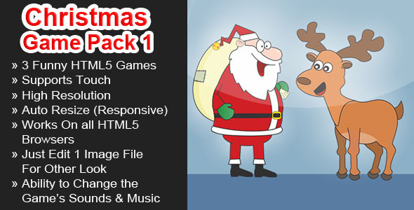 CodeCanyon Christmas Games Pack 1 6323366