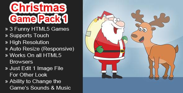 CodeCanyon Christmas Games Pack 1 6323366