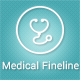 Medical Fineline Icons - GraphicRiver Item for Sale