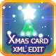 Merry Christmas Card  XML / AS3 - ActiveDen Item for Sale