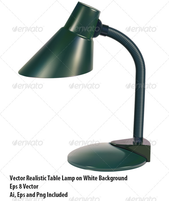 GraphicRiver Table Lamp 6332253
