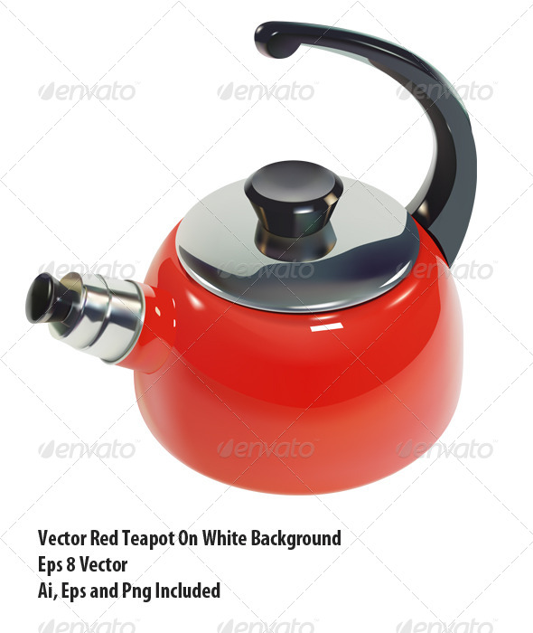 GraphicRiver Teapot 6332401