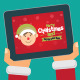 Vector Christmas Cards on Tablet and Phone - GraphicRiver Item for Sale