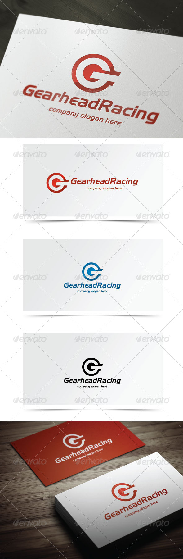 GraphicRiver Gearhead Racing 6332851