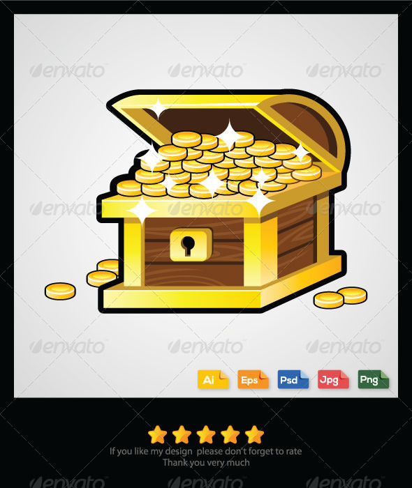 GraphicRiver Treasure Chest 6333251