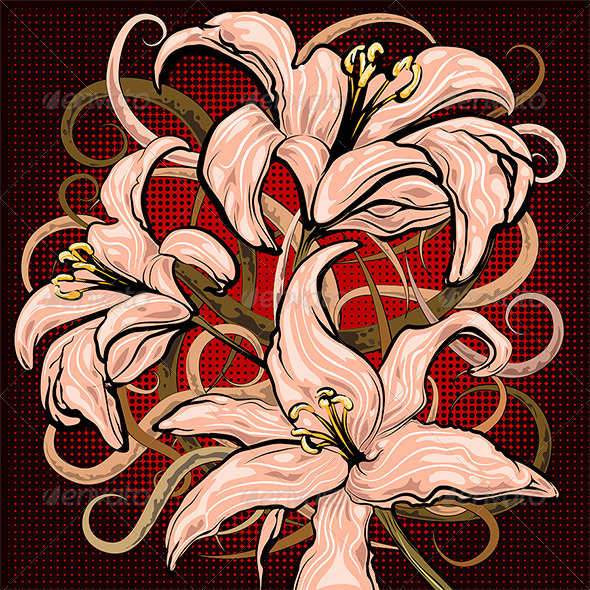 GraphicRiver The Lilies 6333337