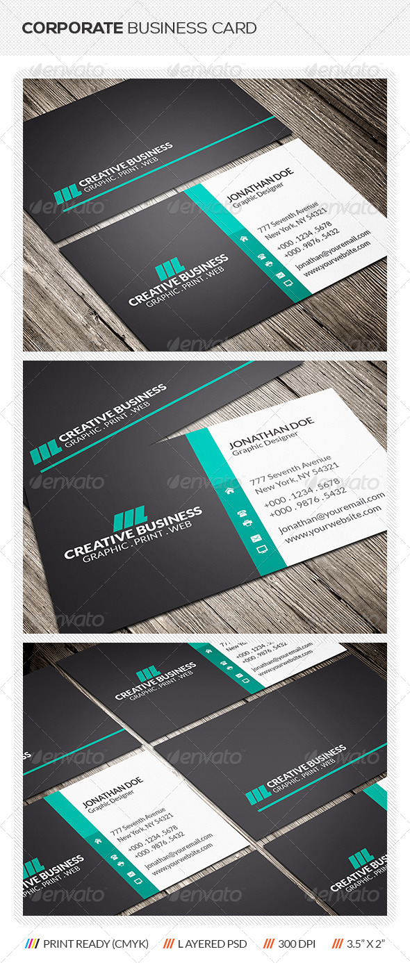 GraphicRiver Corporate Business Card 6334039