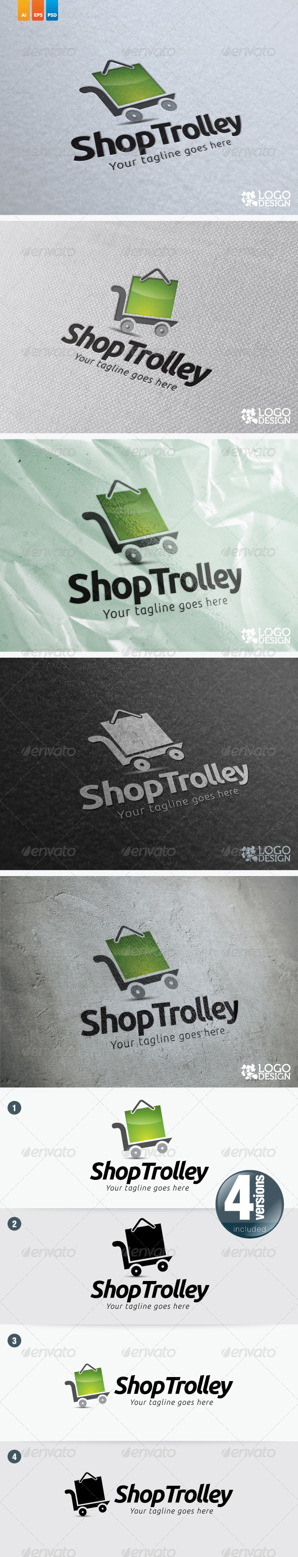 Shop Trolley - Objects Logo Templates