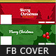 Christmas Minimal Faebook Cover Pack - GraphicRiver Item for Sale