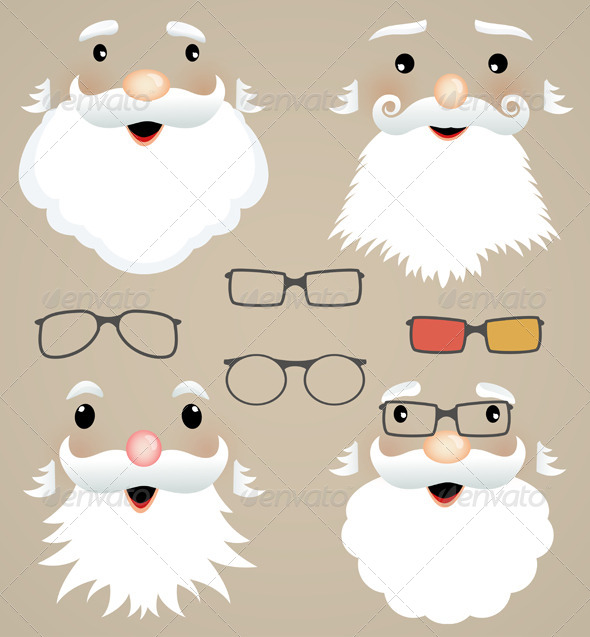 GraphicRiver Set of Christmas Masks 6336043