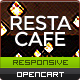 Responsive Restaurant OpenCart Theme - RestaCafe - ThemeForest Item for Sale