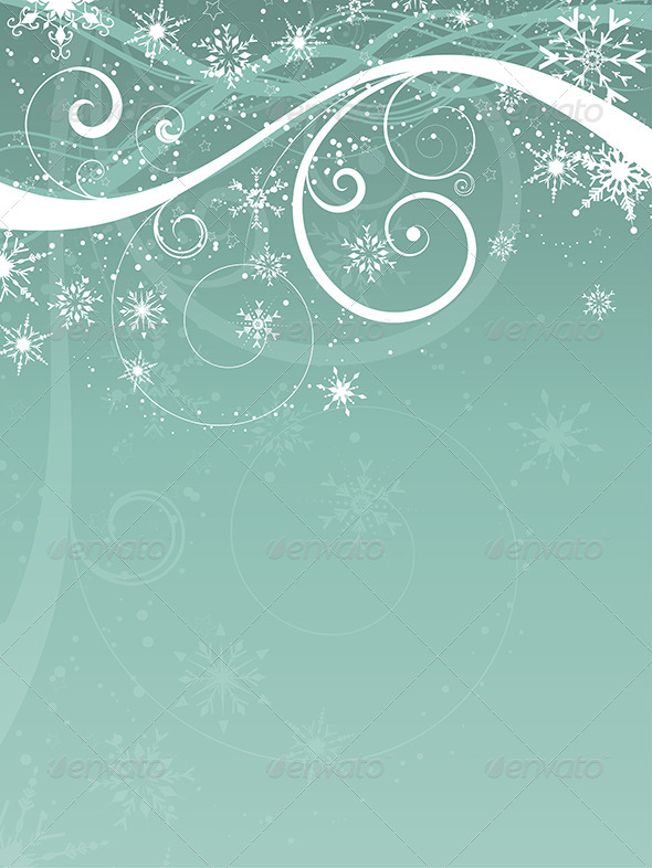 GraphicRiver Christmas Background 6336197