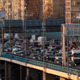 Time Lapse Traffic Congestion On An Urban Flyover - VideoHive Item for Sale