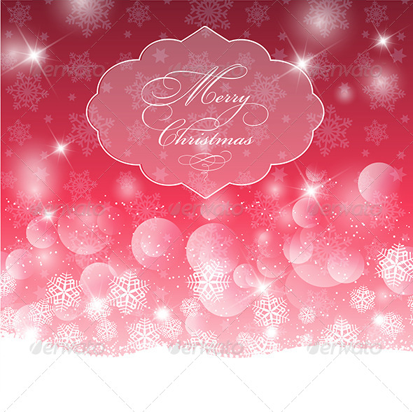 GraphicRiver Christmas Background 6336550