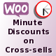WooCommerce Minute Discounts on Cross-sells