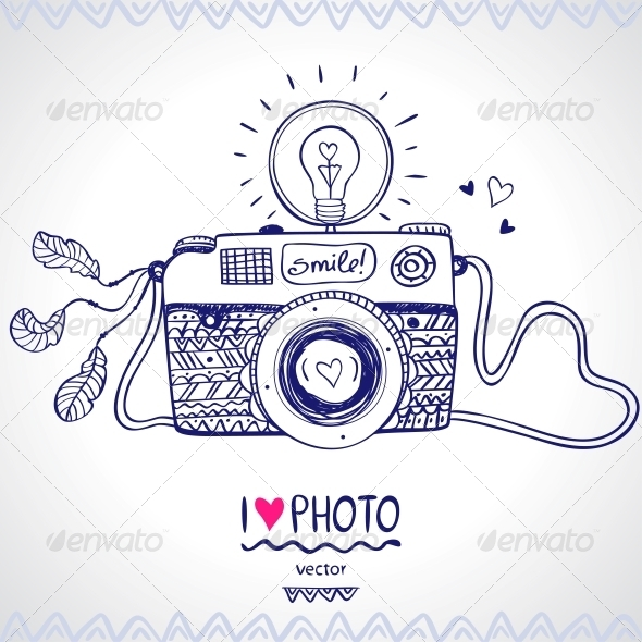 GraphicRiver Camera Sketch 6337605