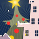 Christmas Night in Our Small Town - GraphicRiver Item for Sale