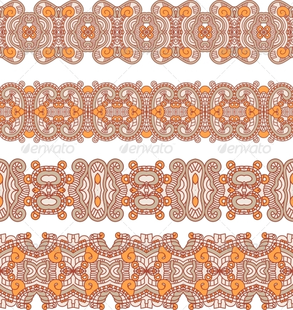 GraphicRiver Ornamental Seamless Pattern 6339029