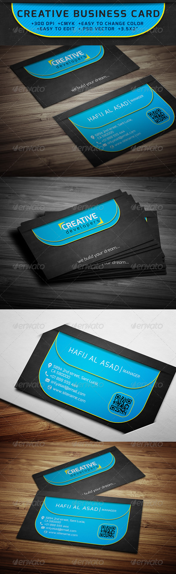 GraphicRiver Creative Business Card 6339121