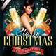 Classy Christmas Party Flyer Template - GraphicRiver Item for Sale