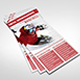 Ski/Snowboard Rack Card Brochure - GraphicRiver Item for Sale