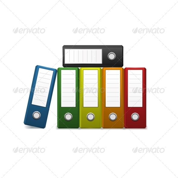 GraphicRiver Office Binders 6341141