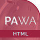 PAWA - Creative Responsive HTML Template - ThemeForest Item for Sale