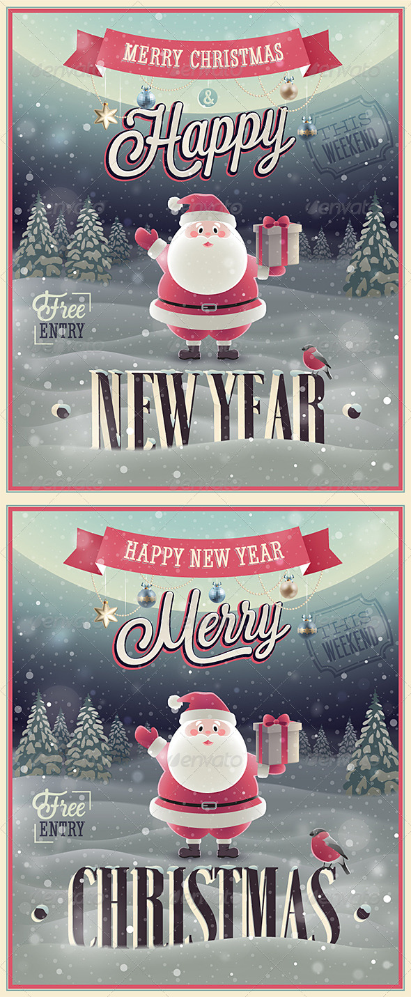 GraphicRiver Christmas Poster 6341186