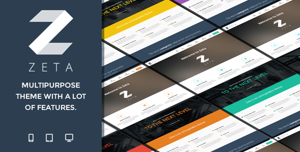 ThemeForest Zeta MultiPurpose WordPress Theme 6284073