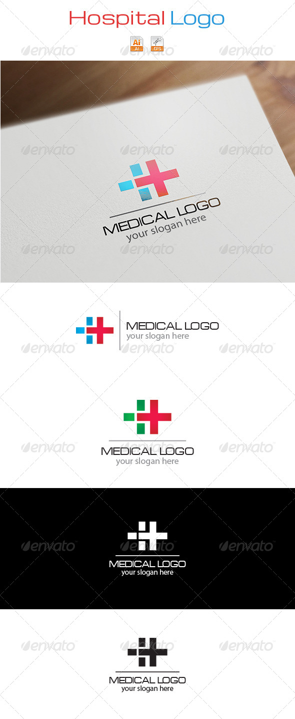 GraphicRiver Hospital Logo 6342241