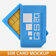 Sim Card Mockup - GraphicRiver Item for Sale
