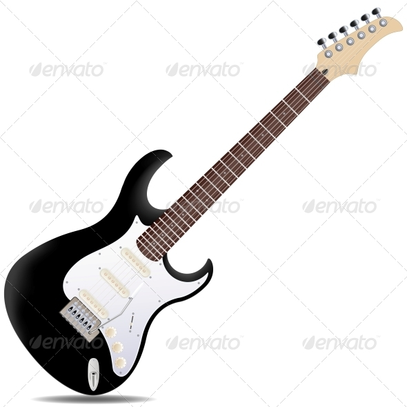 GraphicRiver Electric Guitar 6342502