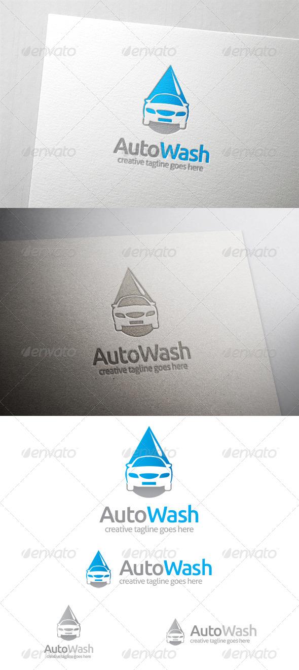 GraphicRiver Auto Car Wash Logo 6342772